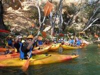 Canoe sul fiume Genil