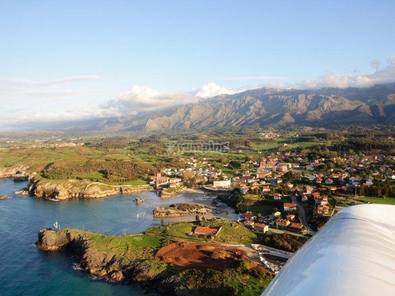 Vista panoramica di Llanes