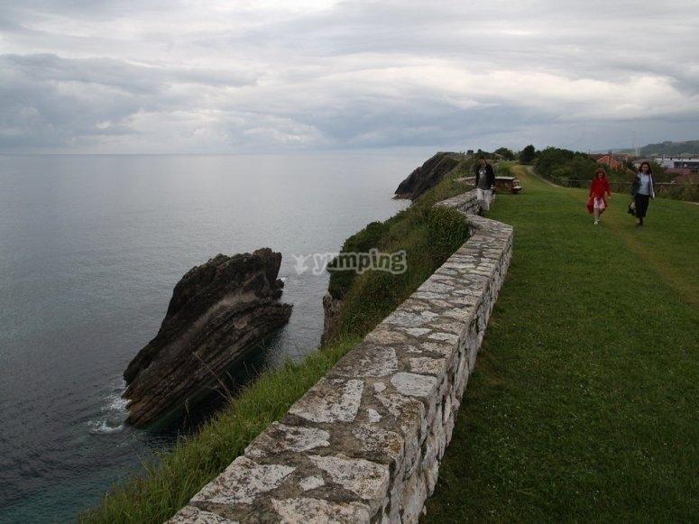 Passeggiata sulla costa di Llanes