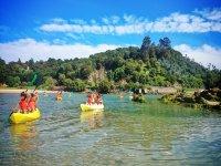 Giro in kayak lungo l'estuario di Niembro