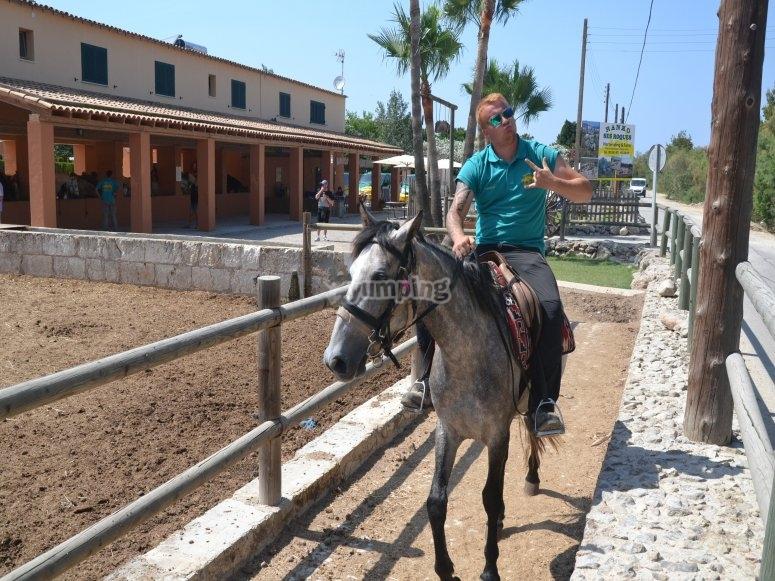 Leaving our riding club