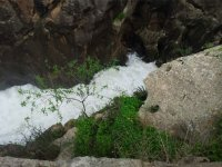 Sezione di acque bianche nel fiume