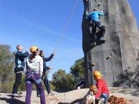 Gruppo di arrampicata sportiva