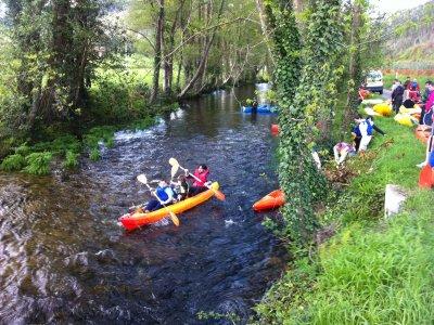 3 h. de piragüismo en el rio Sil