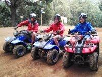 Grupo de tres quads