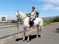 Probando a caballo