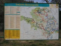 Plano de las rutas de la zona