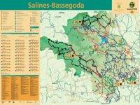 Mapa del recorrido en bicicleta