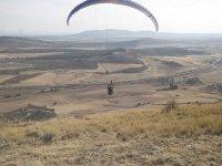 Parapente en el aire