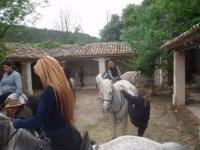 Ruta a caballo en nuestros alrededores
