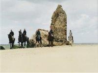 Las playas onubenses a caballo