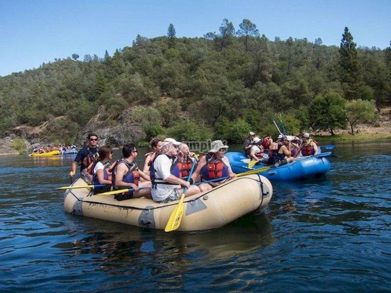 Practica rafting en San Cipriano del Condado