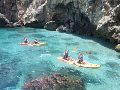 Guided Kayak Tour, Verano Azul