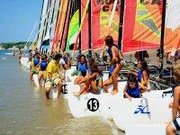 学校帆船赛