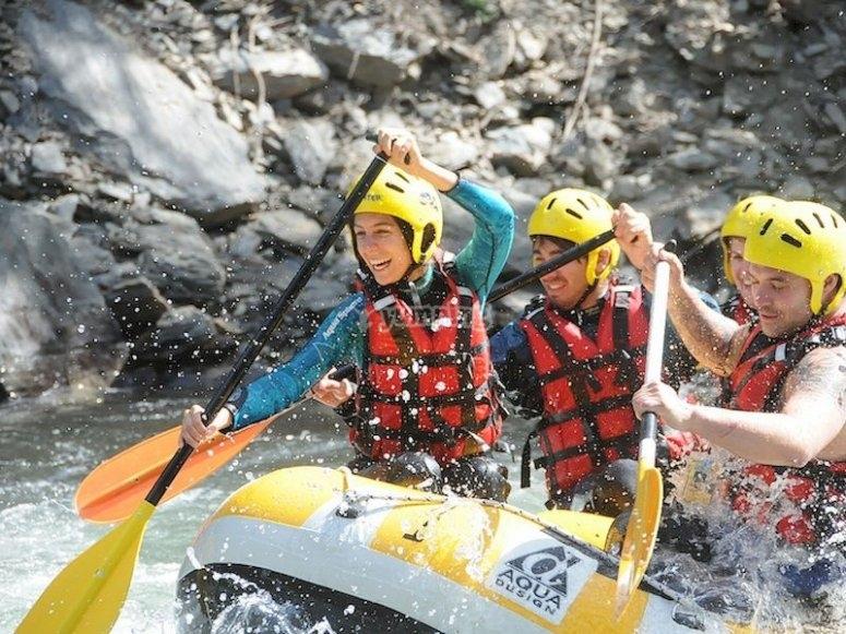 Rafting en Ribagorzana