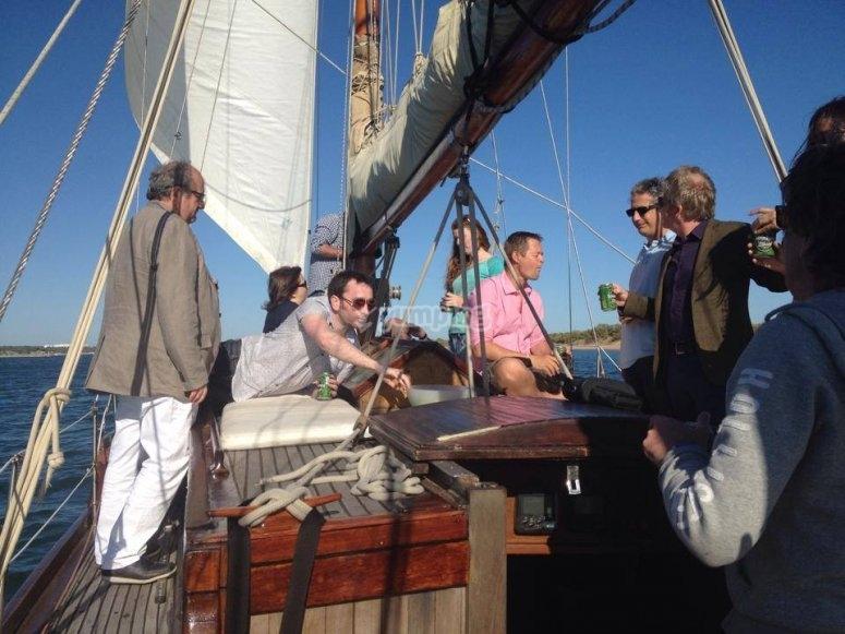 Salida en velero