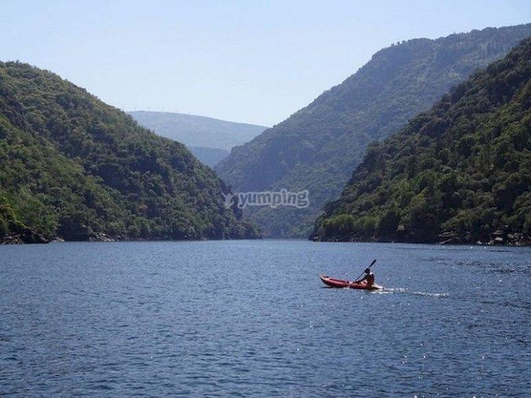 Conoce el río Miño en Kayak