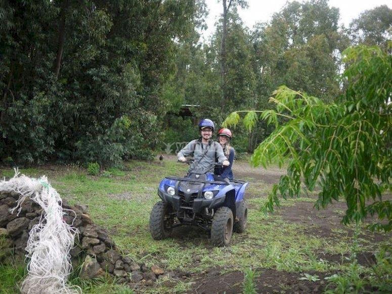 Disfruta de un paseo en quad por el valle del Landro