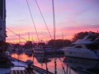 梅诺卡岛的日落
