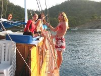巴利阿里群岛的游轮