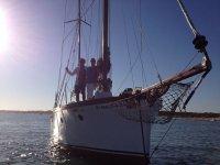 Giro in barca a vela Sunset 2 h Huelva Bambini