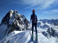 Ascenso con esquís