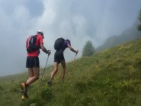Trekking con bastones