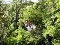 Tirolina y otras actividades de aventura