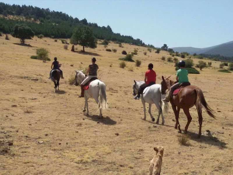 Ruta a caballo por El Valle