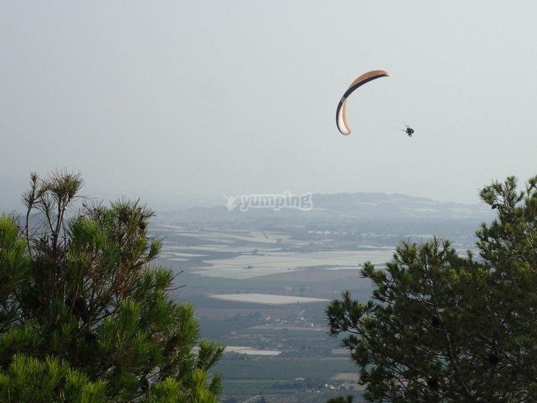 Flight experience in Alhama de Murcia