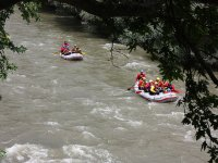 Rafting descent in Huesca
