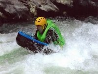 Whitewater hydrospeed descents
