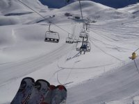Initiation to skiing in Huesca