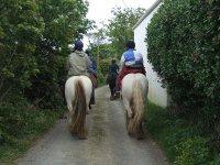 在Panticosa练习骑马