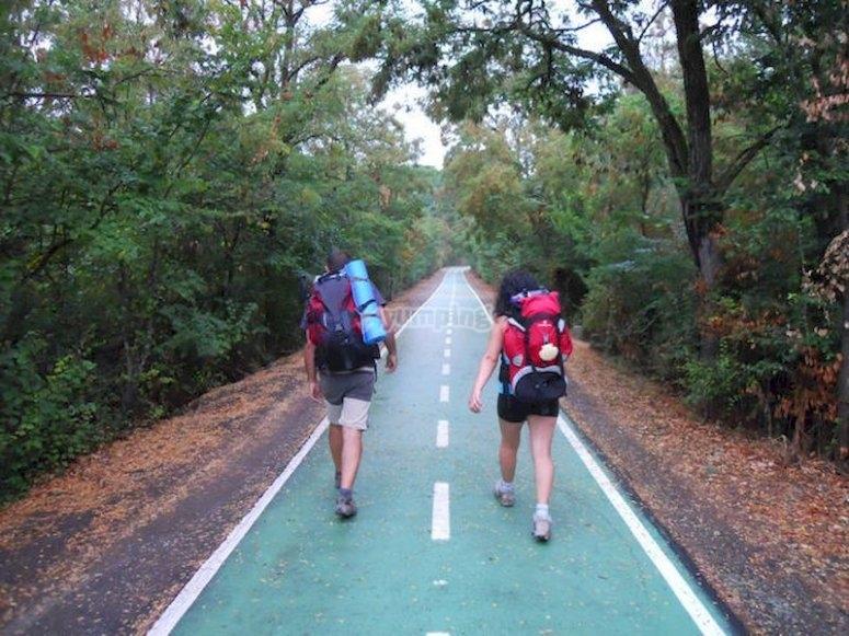Hacer senderismo por la Vía de la Plata