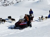 Snowmobile excursions