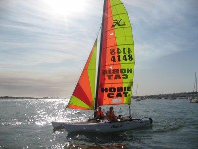 Corso di iniziazione Catamarani a vela leggeri 5 ore Huelva