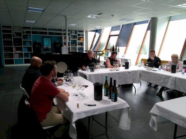 Cata de vinos en el valle del Salnés