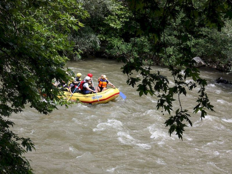 Descenso del Miño en rafting