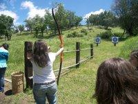 练习射箭我们