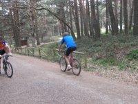 山地车穿越Sierra de Guadarrama