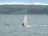 Sail with a windsurf board