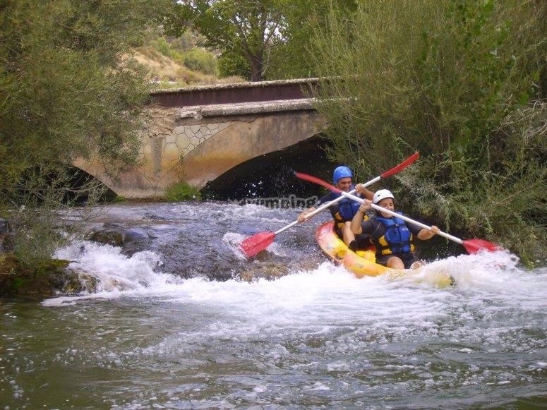 Canoe e avventura