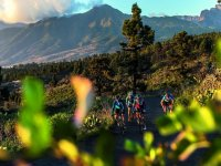 Cycling route in Tenerife