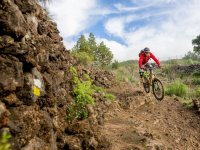 Singletrail route La Palma