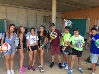 preparados para padel y tenis