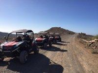 Montando en buggy en Gran Canaria