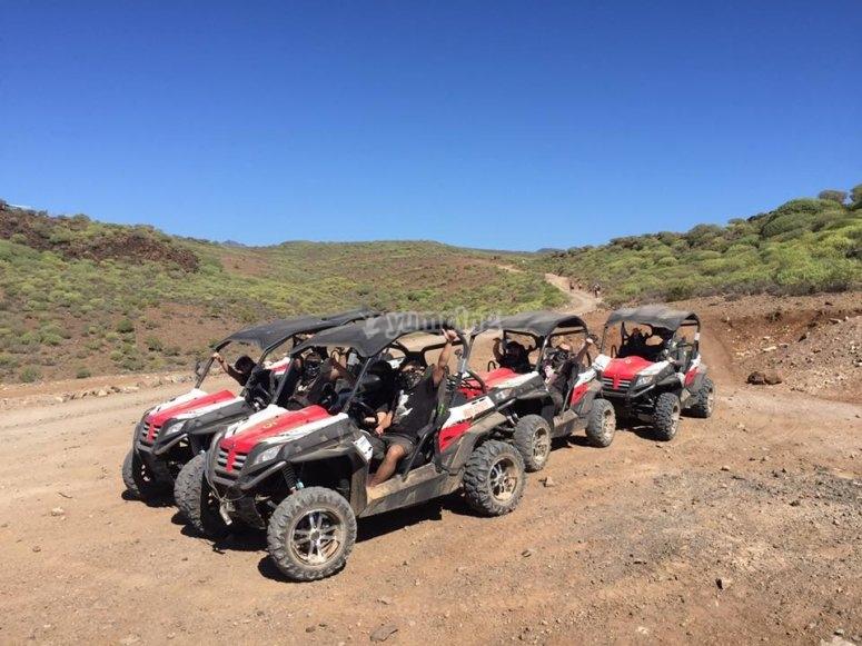 Buggies en Gran Canaria