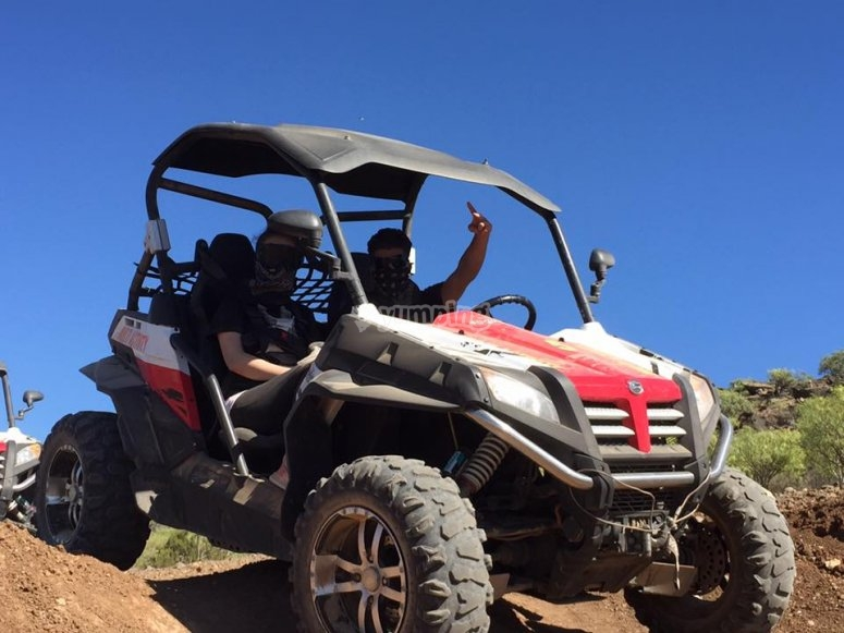 Excursion en buggy en Gran Canaria