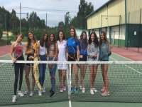 Tennis lessons in Forenex camp